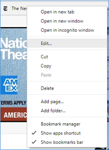 Open Chrome bookmarks in new tab | Technology for Academics