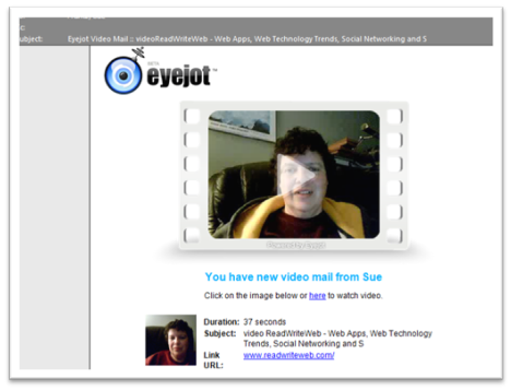 Eyejot video august 2018 discounts send video business cards with the eyejot video mail apptechnology in teaching jenny lgers training blog reheart Choice Image
