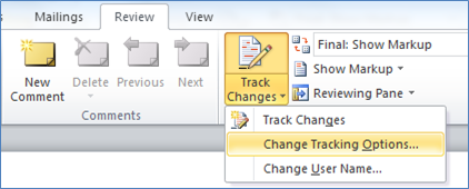 QTT: Change Comment Color in Word 2010 | Technology for