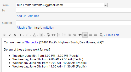 Email To Propose A Meeting Image Collections Proposal Template Design