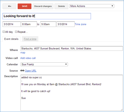how to add email account to google calendar